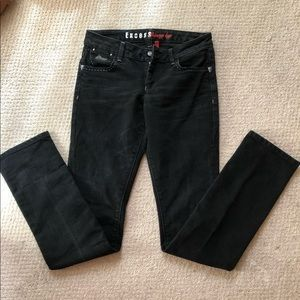 GUESS🎊boot cut jeans, off black